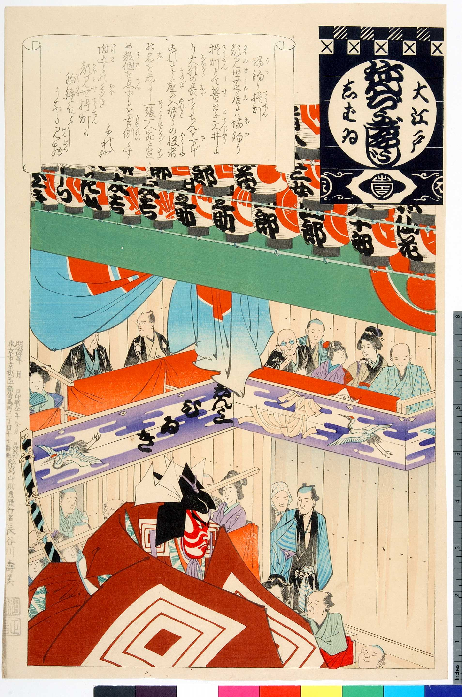 B08 Aragoto and Kumadori, Actors and Emblems