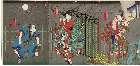 MFA-11.36155a「見立松竹梅ノ内」 「皆鶴姫」「嵐徳三郎」「御曹子牛若丸」「片岡我童」「喜三太」「中むら宗十郎」・『』