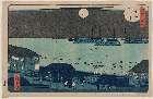 MFA-21.10171「東都名所」 「高輪夕景」・『』