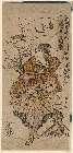 MFA-11-20672・・長秀「祇園御輿洗 ねりもの姿」「鳥さし」「桜井や きく江」