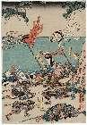 MFA-06.1286「摂州一ノ谷源平合戦図」 ・『』