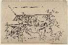 MFA-21.5806「上野花見の躰(てい)」 「高台の屋敷で寛ぐ人々」・『』