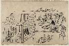 MFA-21.5809「上野花見の躰(てい)」 「蹴鞠を楽しむ人々」・『』