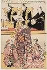 MFA-21.5475「六代中山小十郎(こじゅうろう)の千鳥(ちどり)、三代沢村宗十郎の重盛、三代市川八百蔵(やおぞう)の由兵衛(よしべえ)、浄瑠璃(じょうるり)二代富本豊前(ぶぜん)太夫、脇語り富本斎宮(いつき)太夫、三弦名見崎徳治」 ・・『』