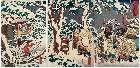 MFA-11.39550a「通俗三国志之内」 「玄徳三雪中孔明訪図」・『』