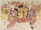 MFA-11.15774「坂東三津五郎」 文化14・11・01中村座『花雪和合太平記』