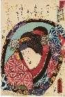 MFA-11.40956「今様押絵鏡」 「杉酒屋娘お三輪」安政06・03・14中村『妹背山婦女庭訓』