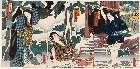 MFA-11.41787a元治01・・国周「下部切平」「市村羽左衛門/名古平」「市川小団次/女房お杣」「尾上菊次郎」