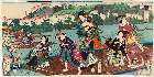 MFA-00.1063・・国周「京都嵐山遊覧」