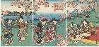 MFA-11.43542a「嵐山桜狩之図」 ・・『』