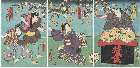 MFA-11.44276a「俄師尾花」 安政04・01・15市村座『鼠小紋東君新形』