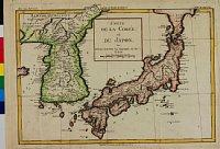 cortazzi025 : CARTE DE LA COR?E et DU JAPON.