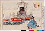 arcUP0859「能楽図絵」 「枕慈童」明治31・・『』