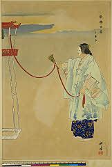 arcUP1427「能楽百番」 「三井寺」大正13・・『』