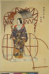 arcUP1433「能楽百番」 「熊野」大正13・・『』