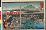 arcUP2563「都名所之内」 「四条橋河原夕涼」・・『』