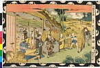arcUP3267「浮絵忠臣蔵」 「六段目」文化08・・『』