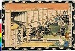 arcUP3271「浮絵忠臣蔵」 「十段目」文化08・・『』