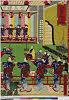 arcUP5169「伊勢古市踊之図」 「備前屋桜花楼」・・『』