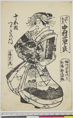 arcUP6061-065「けいし太夫 中村富十良」 「十五枚つゞきの内」・・(見立)『』