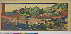 arcUP7179「神戸新福原 布引ノ滝図」 「男滝」「女滝」「二度山」「てつかいが峰」・・『』