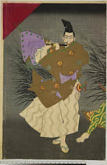 arcUP7596「百面相之図」 明治16・04・23新富『柳桜東錦絵』