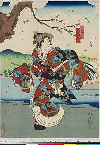 arcUP7959 「禿みどり 嵐徳三郎」・・『戻駕色相肩』