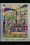 NDL-298-00-001「鉄道馬車往復京橋煉瓦造ヨリ竹河岸図」 ・・『』