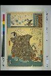 NDL-566-00-049「源氏雲浮世画合」 「宿木」「菅相丞」「苅屋姫」「四十九」・・『』