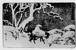 Z0173-054「行書東海道五十三次」 「石薬師」・・『』