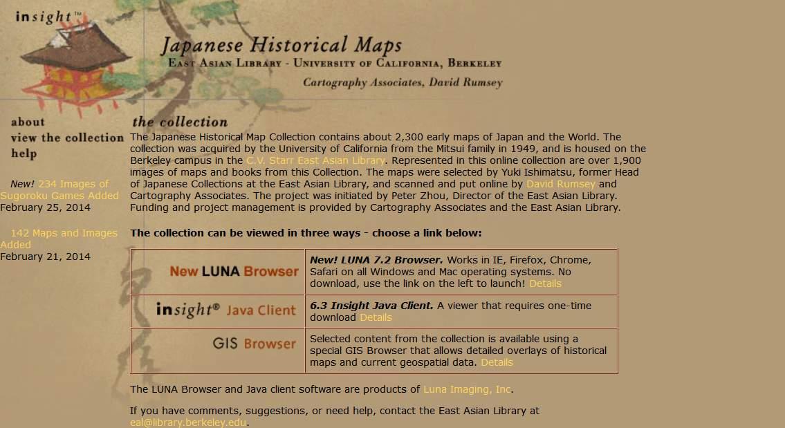 D4 Japanese Historical Maps