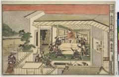 AkoGA-G0017-07寛政・・豊国〈1〉「浮絵忠臣蔵」「十段目の図」