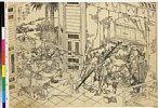 MAOV3774・・北斎「新人の房に魯智深小覇王を懲す」