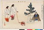 arcUP0850「能楽図絵」 「松風」明治34・・『』