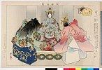 arcUP1036明治32・・耕漁「能楽図絵」「絵馬」