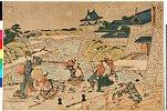 arcUP1328文化03・・北斎「仮名手本忠臣蔵」「三段目」