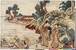 arcUP1722文化03・・北斎「仮名手本忠臣蔵」「八段目」