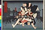 arcUP2104「大日本六十余州」 「武蔵」「綱五郎」・・(見立)『本町糸屋娘』