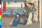 arcUP2155「大日本六十余州」 「日向」「景清」「糸たけ」・・(見立)『嬢景清八島日記』
