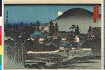 arcUP2560安政年間・・貞信〈1〉「都名所之内」「円山安養寺夜景」