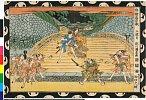 arcUP3264文化08・・国直「浮絵忠臣蔵」「三段目」