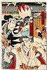 arcUP3523明治22・03・桐座『仮名手本忠臣蔵』