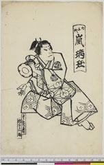 arcUP6061-182「犬千代 嵐璃☆」 安政04・11・南『名物東錦絵』