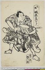 arcUP6061-199「忠信 坂東彦三郎」 安政05・11・北『義経千本桜』