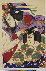 arcUP7378(「歌舞伎座十月狂言」) 明治33・10・歌舞伎『菅原伝授手習鑑』