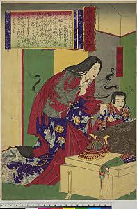 arcUP7856「日本外史之内」 「静御前」・・『』
