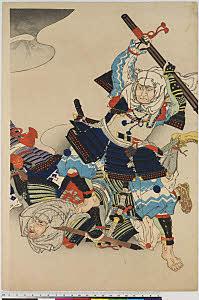 arcUP8069(「新撰名誉鏡」) (「勇」「武蔵坊弁慶」 )・・『』