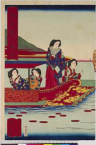 arcUP8164「源氏東の遊船」 ・・『』