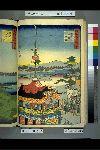 NDL-512-00-047・・広重〈1〉「諸国名所百景」「京都祇園祭礼」