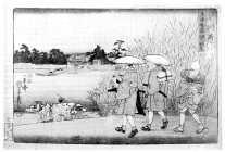 BN03828959-2-13嘉永02・・国芳「東海道五十三次人物志」 「三」「川崎」